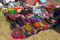 Colorific Rodopian knitted socks Stock Photo