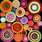 Colorful rolls of fabric Royalty Free Stock Image