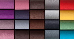 Colorful rolls of lycra, nylon, microfiber Stock Photography