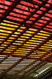Colorful roof Royalty Free Stock Photo