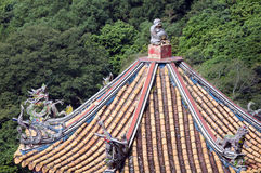 Colorful Roof, Taiwan Stock Images