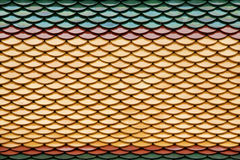 Colorful roof tiles Royalty Free Stock Photos