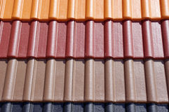 Colorful roof tiles Royalty Free Stock Image