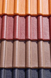 Colorful roof tiles Stock Image