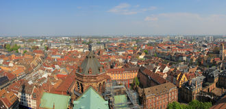 Colorful roof tops of Strasbourg Royalty Free Stock Photography