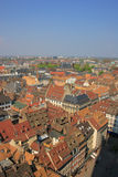 Colorful roof tops of Strasbourg Royalty Free Stock Image