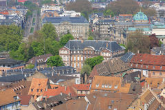 Colorful roof tops of Strasbourg Stock Image