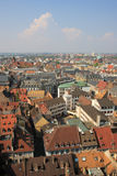 Colorful roof tops of Strasbourg Stock Images