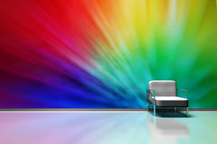 Colorful room Stock Photography
