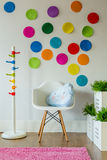 Colorful room for a child Royalty Free Stock Photo