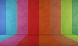 Colorful room Royalty Free Stock Images