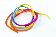 Colorful rope Stock Image
