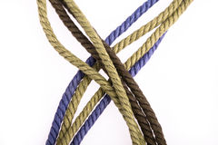 Colorful rope Stock Photo