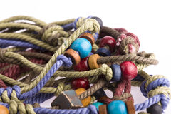 Colorful rope Royalty Free Stock Photo