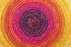 Colorful Rope handmade texture Stock Photography