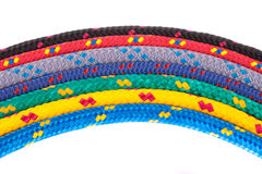 Colorful rope rainbow Royalty Free Stock Photo