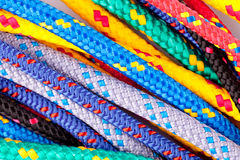 Colorful ropes Stock Photography