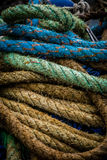 Colorful ropes Stock Photos