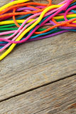 Colorful ropes Royalty Free Stock Photos