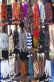Colorful rosaries Stock Photos