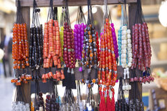 Colorful rosaries Royalty Free Stock Images