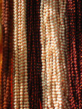 Colorful rosary beads Stock Photography