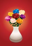Colorful roses Royalty Free Stock Image