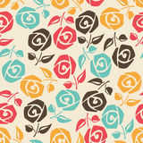 Colorful roses. Royalty Free Stock Photo