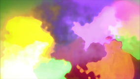 Colorful Rotating Background 02 stock footage