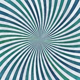 Colorful rotating lines - stripes, making sligtly whirl shape Stock Images