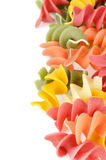 Colorful Rotini Pasta Stock Images