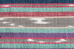 Colorful rough Fabric Texture Royalty Free Stock Photography