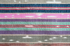 Colorful rough Fabric Texture. Pattern, Background Royalty Free Stock Photo