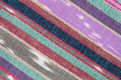 Colorful rough Fabric Texture Stock Photo