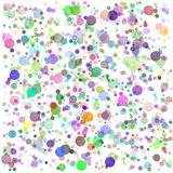 Colorful Round Blots Background Royalty Free Stock Photo