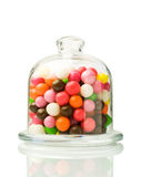 Colorful round candy Stock Photos