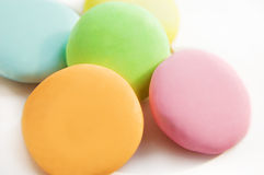 Colorful round candy tablets Stock Photography