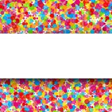 Colorful round celebration background. Vector Royalty Free Stock Photo