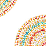 Colorful round jewels background Royalty Free Stock Images