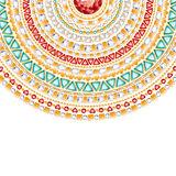 Colorful round jewels background Stock Images