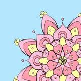 Colorful round mandala ornament Royalty Free Stock Image