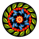 Colorful round ornament Royalty Free Stock Photo