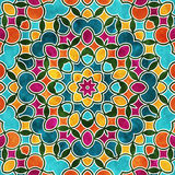 Colorful round pattern Royalty Free Stock Images