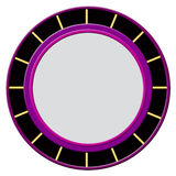 Colorful Round Plastic Frame Royalty Free Stock Image