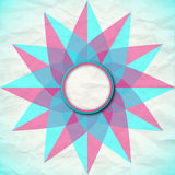 Colorful Rounded Empty Background Royalty Free Stock Images