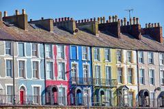 Free Colorful Row Houses Stock Images - 144613404