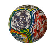 Colorful Rubber Ball Royalty Free Stock Image