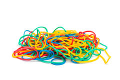 Colorful Rubber Bands Stock Image
