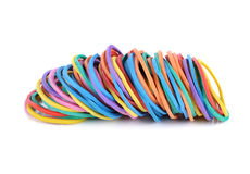 Colorful rubber bands Royalty Free Stock Photo