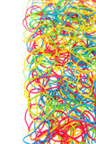 Colorful rubber bands Stock Photography